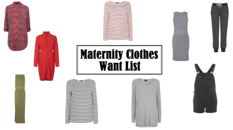 maternity wish list