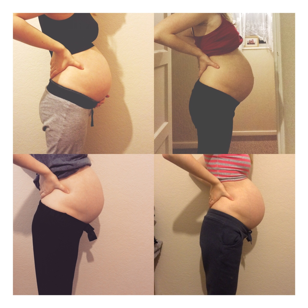 Baby Bump Progression in Pictures